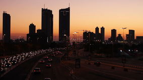 Sonnenuntergang in Bahrain stock video footage