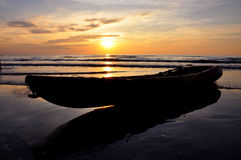 Sonnenuntergang bei Koh Kood stockbilder