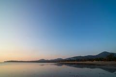 Sonnenuntergang bei Koh Phangan Lizenzfreies Stockfoto