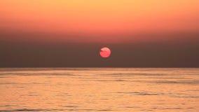 Sonnenuntergang beim Libanon stock video