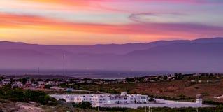 Sonnenuntergang bewölkt Sonnenaufgang Lizenzfreie Stockbilder