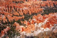 Sonnenuntergang Bryce Canyon National Park Lizenzfreies Stockfoto
