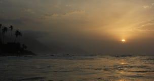 Sonnenuntergang Choroni Stockfotos