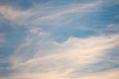 Sonnenuntergang Cloudscape stockbilder