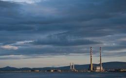 Sonnenuntergang in Dublin Lizenzfreie Stockbilder