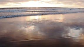 Sonnenuntergang eines Süd-Kaliforniens, USA Lizenzfreie Stockfotografie