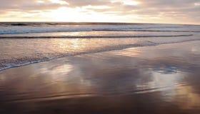 Sonnenuntergang eines Süd-Kaliforniens, USA Stockfoto