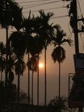 Sonnenuntergang-Foto Stockfotos