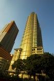 Sonnenuntergang-Gebäude Lizenzfreie Stockfotos