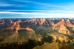 Sonnenuntergang am Grand Canyon Stockbilder