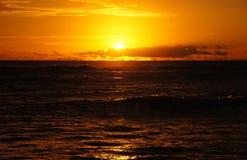 Sonnenuntergang, Hawaii, USA Stockbild