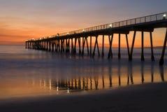 Sonnenuntergang in Hermosa Lizenzfreie Stockbilder