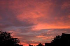 Sonnenuntergang-Himmel Stockbilder