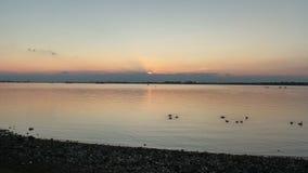 Sonnenuntergang-Horizont Stockbilder