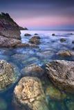 Sonnenuntergang in Howth Lizenzfreie Stockfotografie