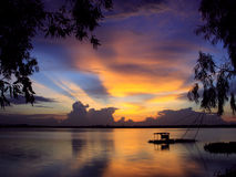 Sonnenuntergang I Stockfoto