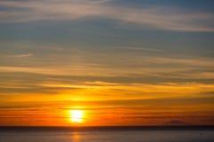 Sonnenuntergang II Lizenzfreie Stockfotos