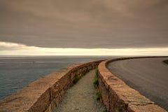 Sonnenuntergang im Acadia-Nationalpark - HDR-Bild Lizenzfreie Stockbilder