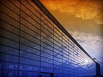 Sonnenuntergang im Glas Lizenzfreies Stockbild