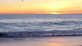 Sonnenuntergang im Tal tun Lobo stock footage