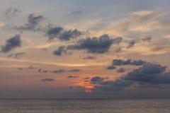 Sonnenuntergang Kata-Strand Lizenzfreie Stockfotografie