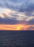 Sonnenuntergang in Ketchikan-Bucht stockbilder