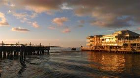 Sonnenuntergang in Key West Lizenzfreies Stockfoto