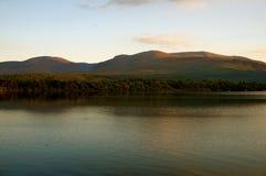 Sonnenuntergang Killarney Lizenzfreie Stockfotos