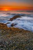 Sonnenuntergang-Klippen Stockbilder