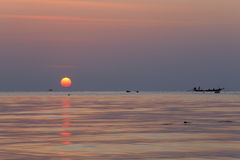 Sonnenuntergang am KOH Tao Lizenzfreie Stockbilder