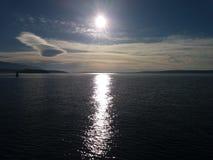 Sonnenuntergang Kroatien στοκ φωτογραφία με δικαίωμα ελεύθερης χρήσης