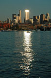 Sonnenuntergang-Lack-Läufer Lizenzfreies Stockfoto