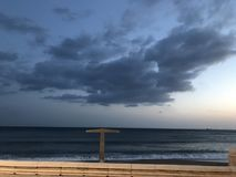 Sonnenuntergang-Liebhaber Stockfoto