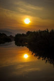 Sonnenuntergang mögen eine Malerei Stockfotos