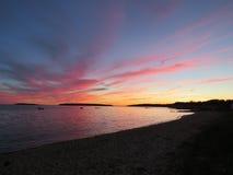 Sonnenuntergang, Natur lizenzfreies stockfoto