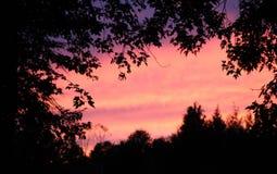 Sonnenuntergang in Neu-England Stockbilder