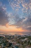 Sonnenuntergang-Porträt Stockfotos
