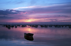 Sonnenuntergang-Reflexionen Lizenzfreies Stockbild