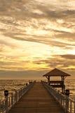 Sonnenuntergang ruhig Lizenzfreie Stockfotos