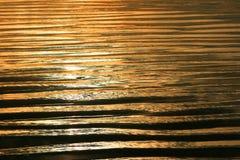 Sonnenuntergang-Sande Stockbild