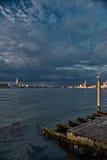Sonnenuntergang Sans Marco in Venedig, Italien Stockbilder