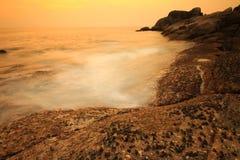 Sonnenuntergang Similan lizenzfreie stockbilder