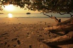 Sonnenuntergang Similan stockfotos