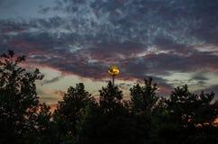 Sonnenuntergang, Sonnenaufgänge Lizenzfreie Stockfotos