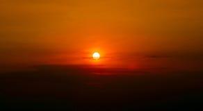 Sonnenuntergang, Sonnenaufgang Lizenzfreie Stockfotos