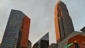 Sonnenuntergang-Stadt Lizenzfreie Stockbilder