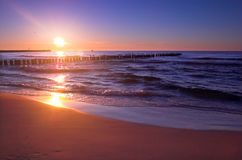 Sonnenuntergang szenisch Stockfotografie