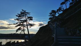 Sonnenuntergang-Tage Stockfotos