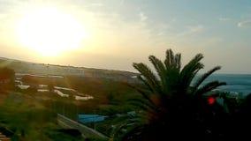Sonnenuntergang in Tenerife stock video