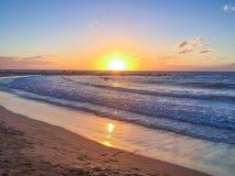 Sonnenuntergang Teneriffa stockbilder